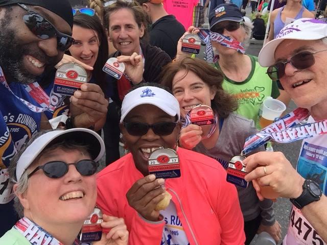 2017 Half Marathon Group
