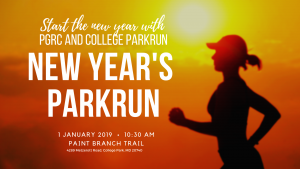 New Years Parkrun @ Paint Branch Trail